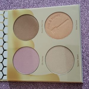 Brand New Beauty Bakerie milk and honey highlighter palette